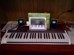 midi keyboard setup