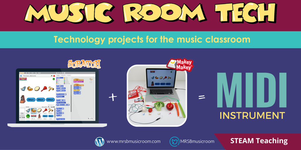 Create your own MIDI musical instrument with Scratch and the