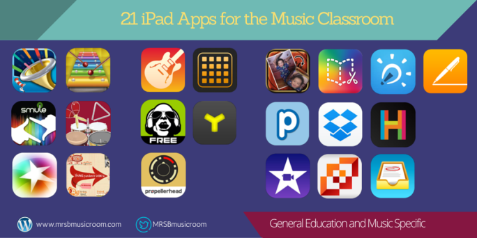 apps for the music room